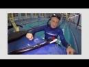 Многократный чемпион Россиии по подводной охоте тестирует новое пневматическое ружьё