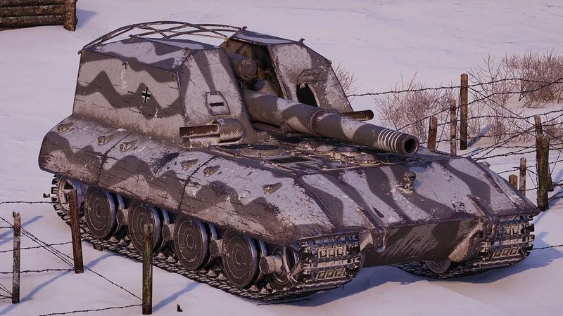 World of Tanks G.W. E100 - 4 Kills 7,5K Damage