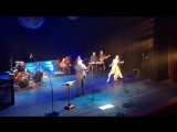 Злоказов и балерина на сцене музкомедии