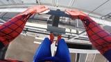 SPIDERMAN Fights Crime - Real Life Parkour POV