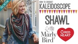 How to Crochet Kaleidoscope Shawl (Right Handed)