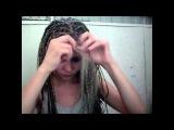 Видео о том как я расплетаю афрокосы