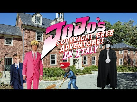 JoJo's Copyright Free Adventures In Italy - Episode 3