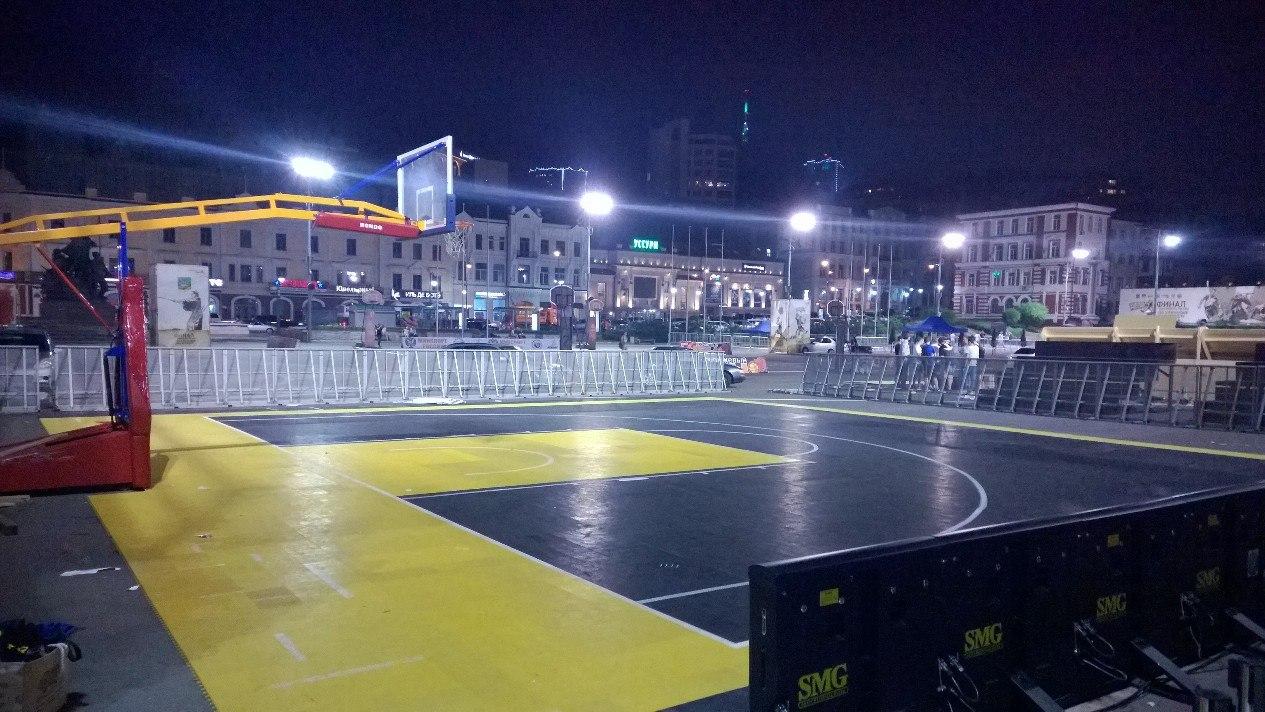 финал чемпионата России по стритболу во Владивостоке
