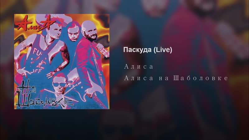 Алиса Паскуда Live