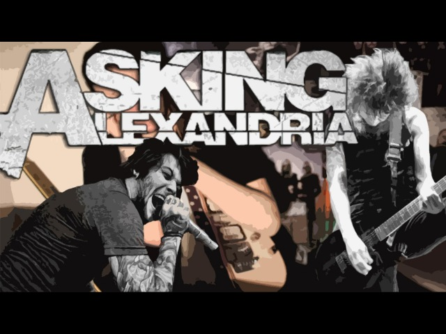 Asking Alexandria - A Candlelit Dinner With Inamorta (Guitar Cover)