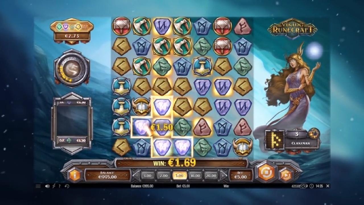 Обзор игрового автомата Viking Runecraft