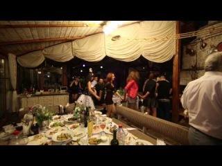 Французская свадьба в украинском стиле. РЕсторан Рыбацкая деревня