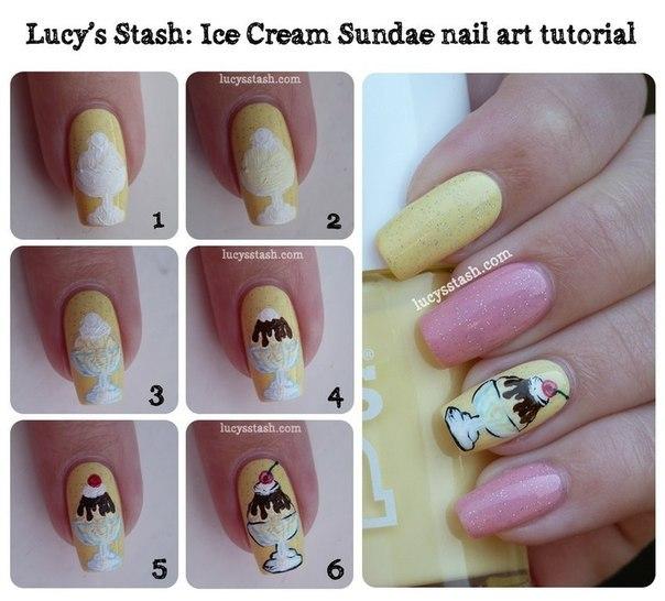 Как на ногтях рисовать кисточками на ногтях