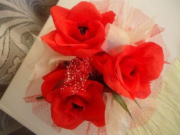 Готовлюсь к Дню Святого Валентина!) Романтичный топиарий и...