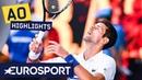 Novak Djokovic vs Denis Shapovalov Highlights Australian Open 2019 Round 3 Eurosport