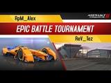 Asphalt 8: Epic Battle Tournament: RpM_Alex VS ReV_Tez