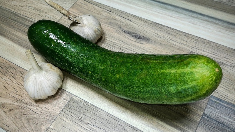 Eat Garlic And Cucumber This Is What Happens To Your Body!