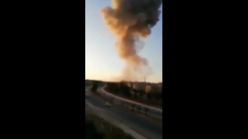 У Сирії НЛО поцілили у військову академію Асада у Aleppo