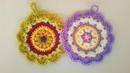 Presina Uncinetto Tutorial - Potholder Crochet - Pega Panela Croche
