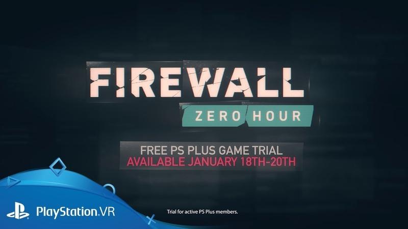 Firewall Zero Hour — трейлер пробной версии