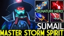 SumaiL [Storm Spirit] Signature Hero Level Master 7.17 Dota 2