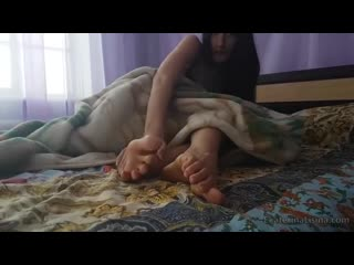 Ekaterina sleepy feet