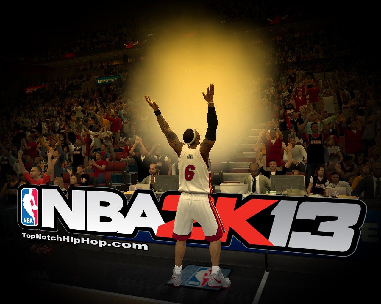 Lebrone James in NBA2K13