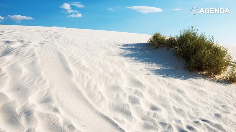 Долина гипсовых дюн