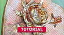 TUTORIAL - GLOSSY ROSE by Donatella Russo