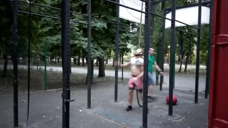 Броски мяча тренировка Open Air