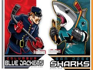 Columbus Blue Jackets vs San Jose Sharks