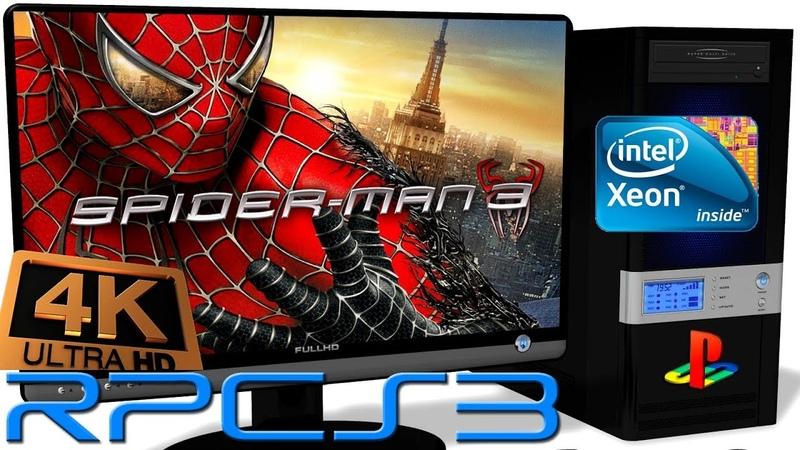 RPCS3 0.0.5 [PS3] - Spider-Man 3 [4K-Gameplay] New RSX. Async Shaders. Vulkan 1