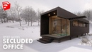 Winter Office 3d Architecture Speed Model Sketchup Lumion 8