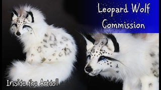 Snow Leopard Wolf Artdoll Commission