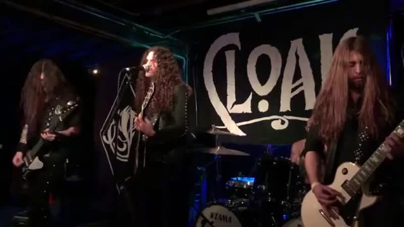 Cloak Live 12_03_2018 at The Canal Club in Richmond, Virginia U.S.A