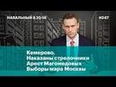 Кемерово. Наказаны стрелочники, арест Магомедовых, выборы мэра Москвы