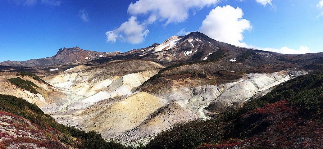 долина смерти  вулкана Кихпиныч
