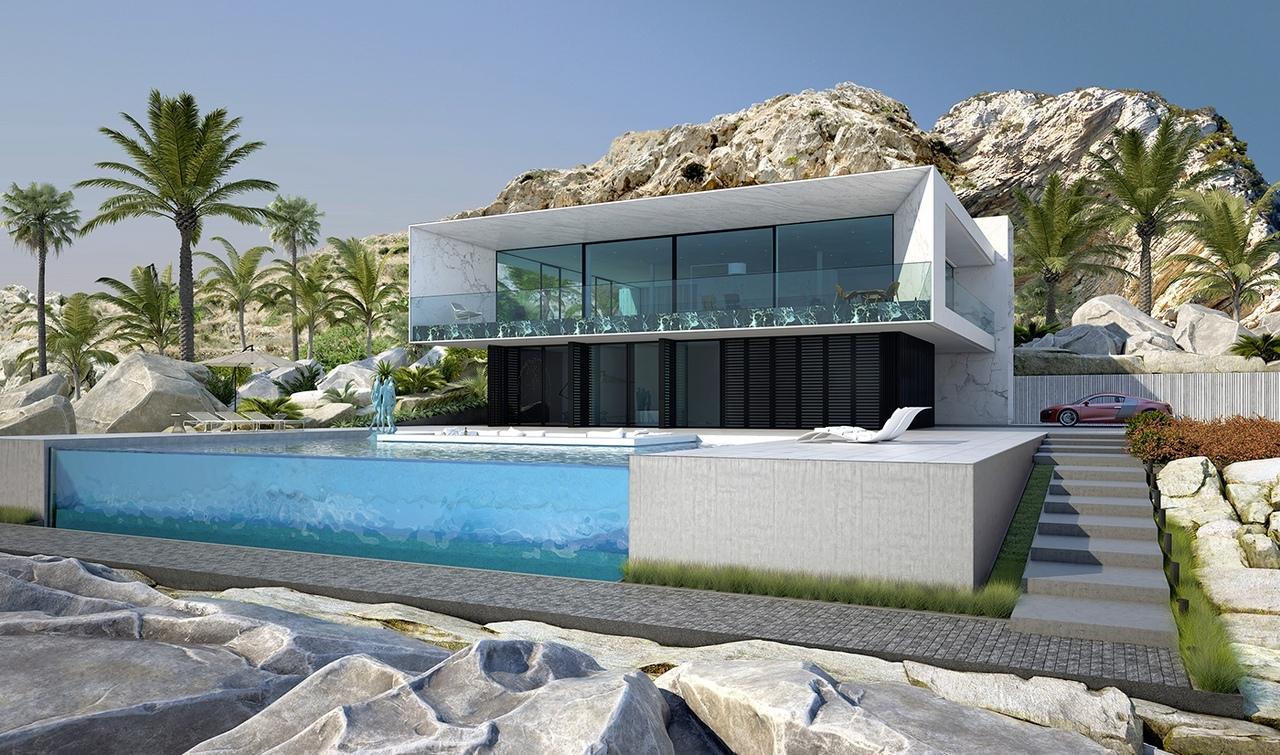Жилой дом в Испании