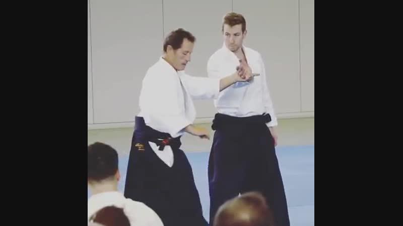 Sankyo to Koshi Nage from Christian Tissier