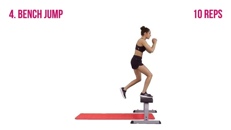 Kayla Itsines' Bikini Body Inner Thigh Workout