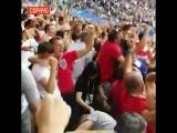 Английские фанаты на стадионе в Самаре #Ф2018