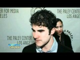 PaleyFest2011: Glees Darren Criss On Sharing A Kiss With Chris Colfer