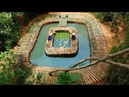 Building Swimming Bamboo Pool And Fish pond Bamboo 100%