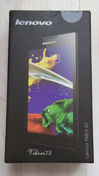 СЕМИДЮЙМОВЫЙ ПЛАНШЕТ LENOVO Tab2 A7-30HC из магазина Tablet PC Mall