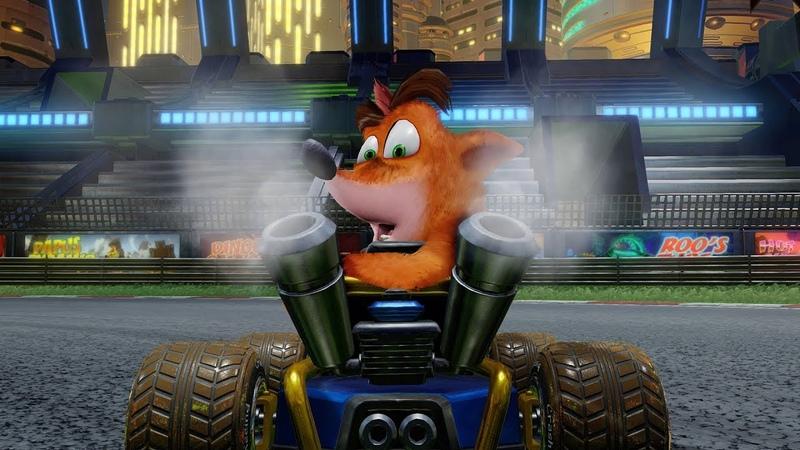 Tráiler de presentación de Crash Team Racing Nitro-Fueled