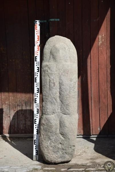 В Вологодской области обнаружили дохристианского каменного идола, возраст которого может превышать 2,5 тыс