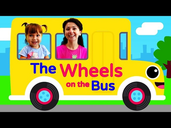 The Wheels on the Bus go round and round Song | Nursery Rhymes for Babies with Lyrics and Action