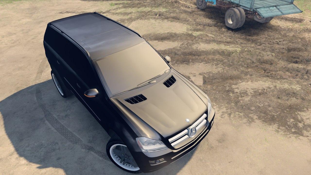 Mercedes-Benz GL-klasse для Spintires - Скриншот 2