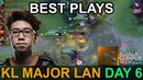 Kuala Lumpur Major BEST PLAYS DAY 6 Highlights Dota 2 by Time 2 Dota dota2 KLMajor