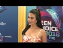 Emeraude Toubia at the Teen Choice Awards 2018 at The Forum on August 12 2018
