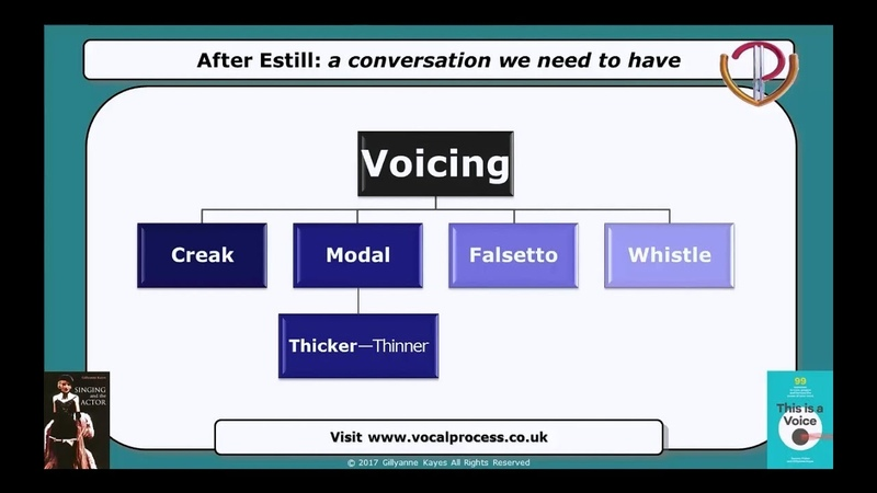 After Estill: The problem with Falsetto in Estill Voice Craft