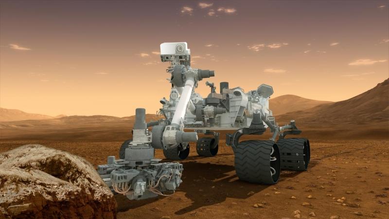 На Марсе нет марсоходов.