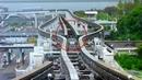 Japanese Railway Monorail Track Changing Mechanism Japanese Railroads Osaka Monorail JR pass