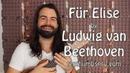 Für Elise Beethoven Classical Ukulele Chord Melody Tutorial